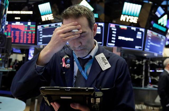 美国三大股指暴跌超2%:道指跌逾600点 阿里跌4.51%