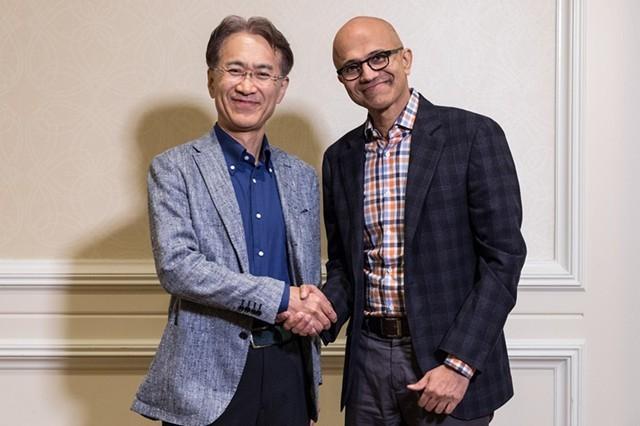 索尼微软结成云计算联盟:共同开发云游戏和AI