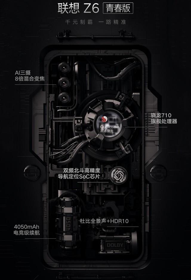 联想Z6青春版挑战7.88mm厚度 小身材却拥有大能量
