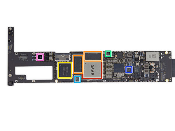 iPad Pro拆解图集_iPad Pro拆机教程