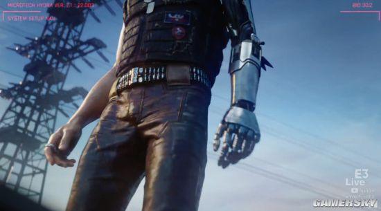 E3 2017:《赛博朋克2077》新预告公布!基努里维斯登场