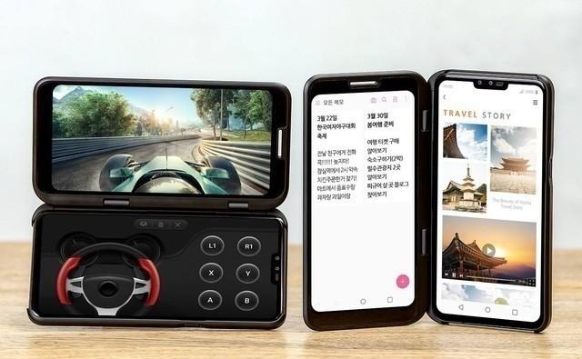 爆料:lg将于ifa展会推出v50s thinq双屏手机