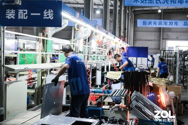 板川集成灶工厂走一趟