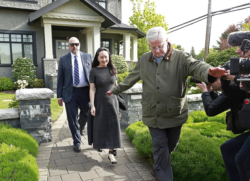 孟晚舟代表律师请求加拿大撤销引渡程序