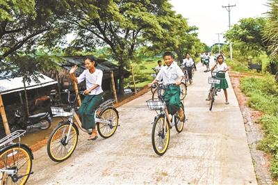 废弃共享单车都去哪儿了?4000辆ofo在缅甸