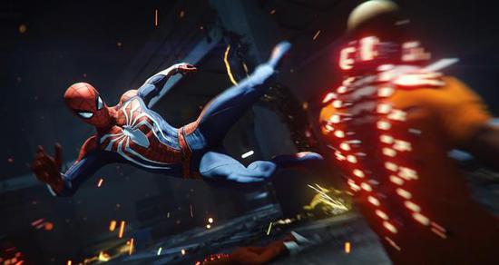 PS4《蜘蛛侠》中的荡网机制花了Insomniac 三年多的开发时间