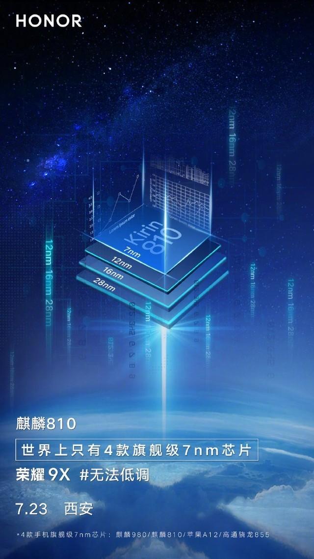 世界上只有4款旗舰级7nm手机芯 其中两款在中国