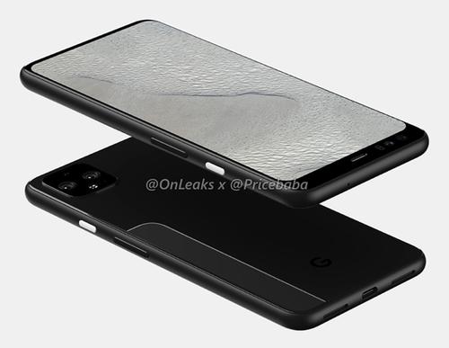最新谷歌Pixel 4 XL渲染图曝光 这设计难道是由索尼代工?
