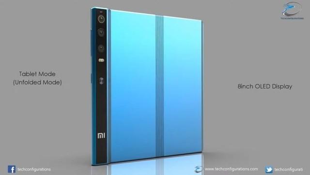 999美元?小米Mix Fold折叠屏新机渲染图曝光