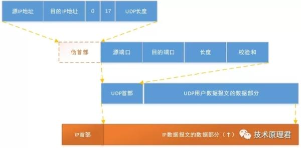 UDP的首部