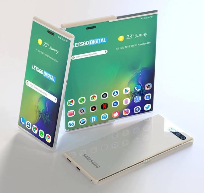 三星手机全新专利曝光 抽拉式屏幕方案可增加50%显