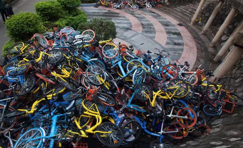 """广州共享单车乱象""""回潮"""":摩拜、哈啰、青桔被约谈"""