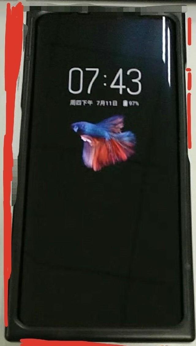 努比亚Z20手机真机曝光,高屏占比