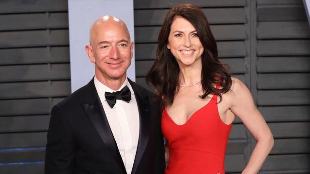 贝索斯前妻成亚马逊第二大个人股东 持股价值2550亿