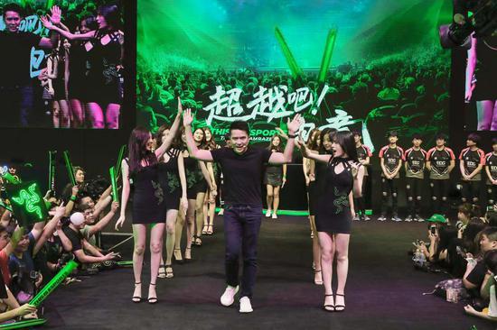 ChinaJoy现场专访 Razer联合创始人兼CEO陈民亮