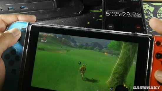 网友测试续航增强版N任天堂Switch:能连续玩《塞尔达传说:荒野之息》5.5小时