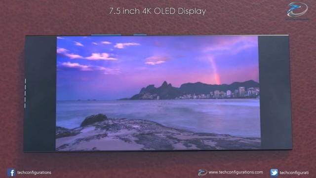 7.5吋4K屏美呆:索尼Xperia XZ4折叠屏新图曝光