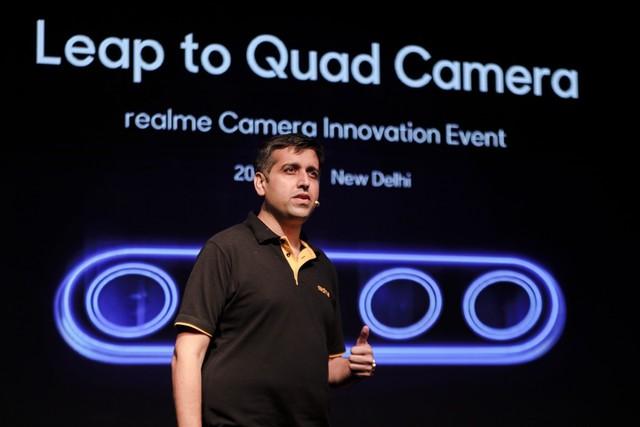 全球首次公开体验 realme举办6400万四摄沟通会