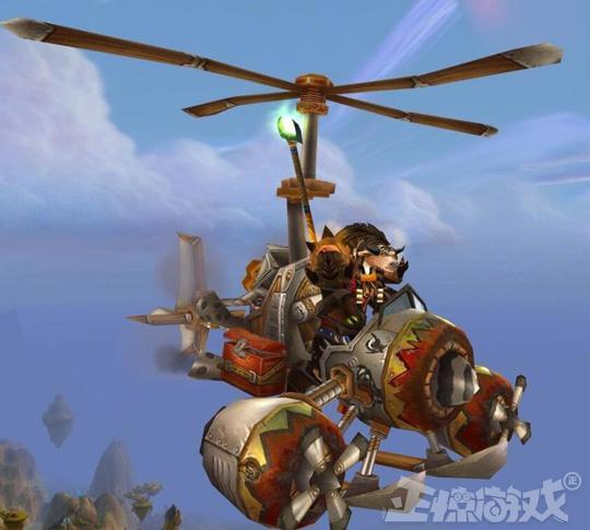 动手能力逆天的魔兽玩家,一个月造出直升机,最后还被学校收藏了!