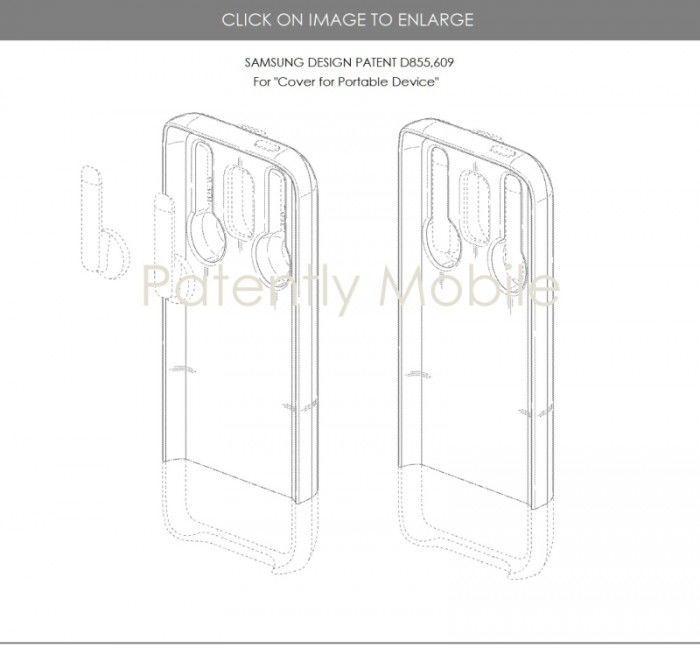 三星未来的手机壳或能容纳Galaxy Buds