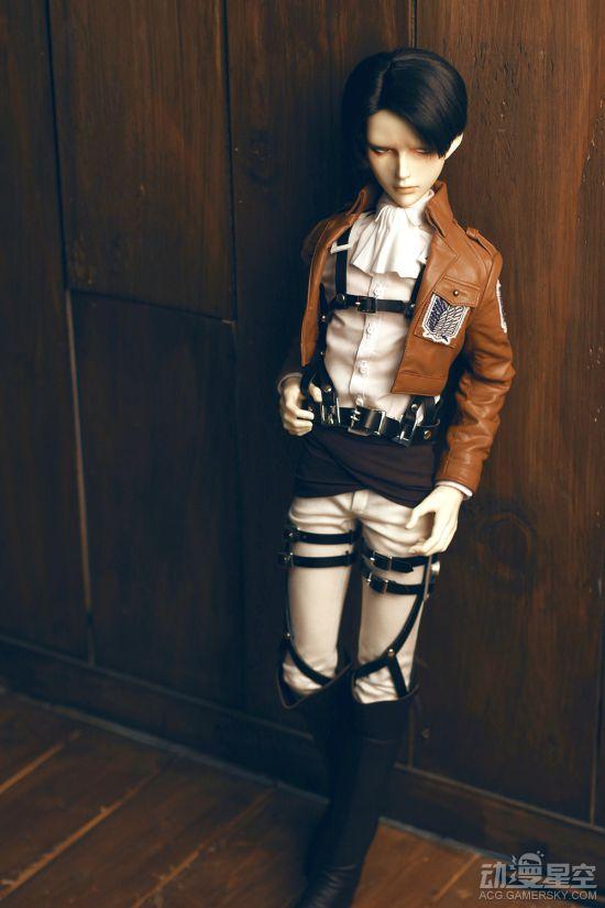 《进击的巨人》推出兵长人偶 栩栩如生售价1.1W