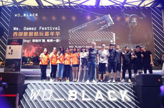 感受全新游戏体验 西部数据携旗下专属游戏品牌WD_BLACK亮相2019 ChinaJoy