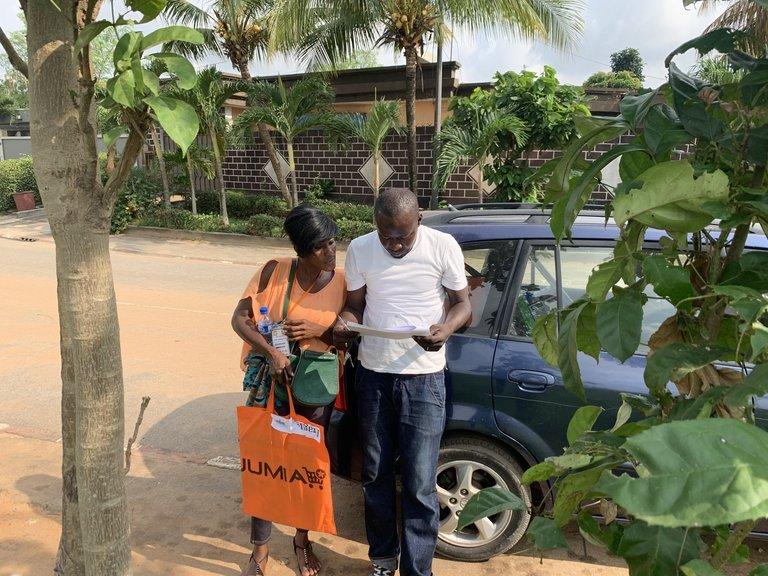 在非洲做电商有一大挑战:多数买家没有门牌号码