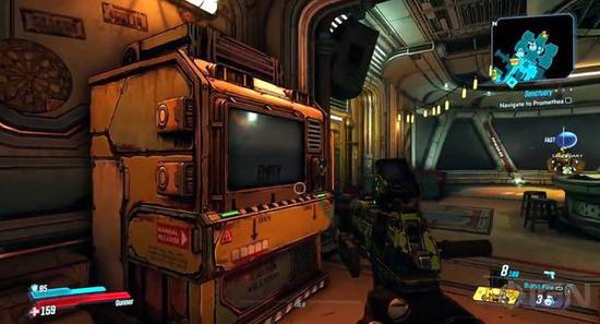 《无主之地3》避难所3号飞船演示