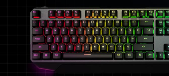 超跑之魂决胜利器,机械师K7双模机械键盘