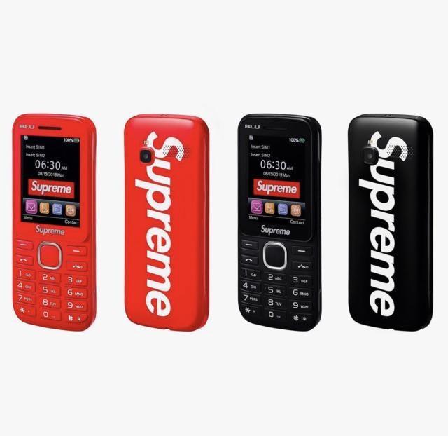 预定下半年最潮单品 Supreme将发3G功能机