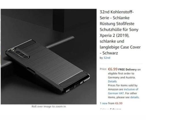 索尼大法好 索尼Xperia 2保护壳上架亚马逊
