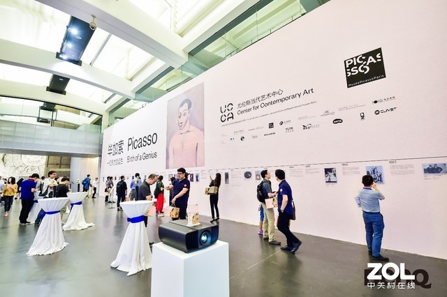 明基艺术之夜携手毕加索展 感受多媒体色彩魅力
