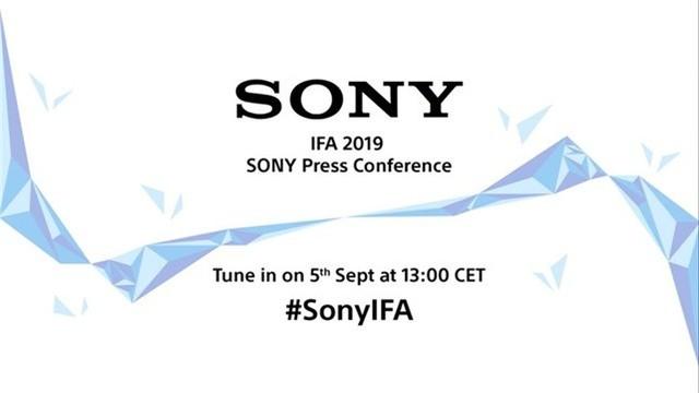 索尼官宣 将于9月5日在柏林发布多款新品