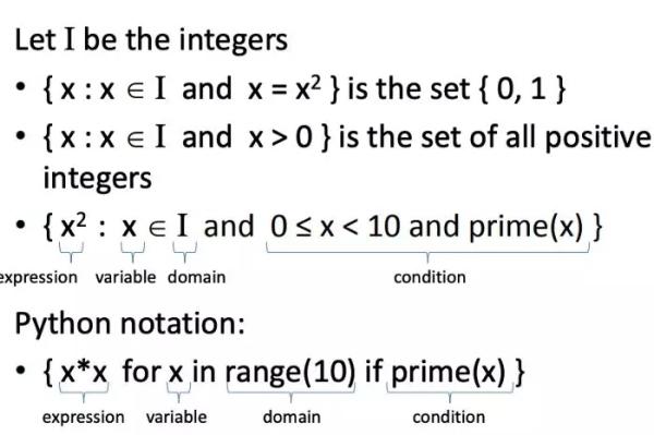 """案例详解:理解Python中的""""解析式"""""""