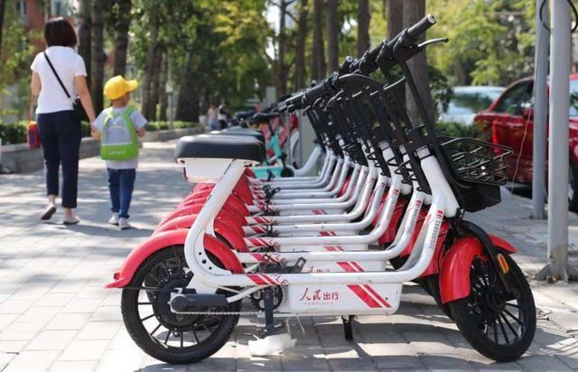 首批基于5G的公务电动自行车亮相北京
