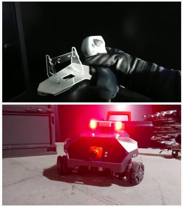 模拟开高达?!高玩大学生发明高度模拟体验驾驶机器人系统引热议