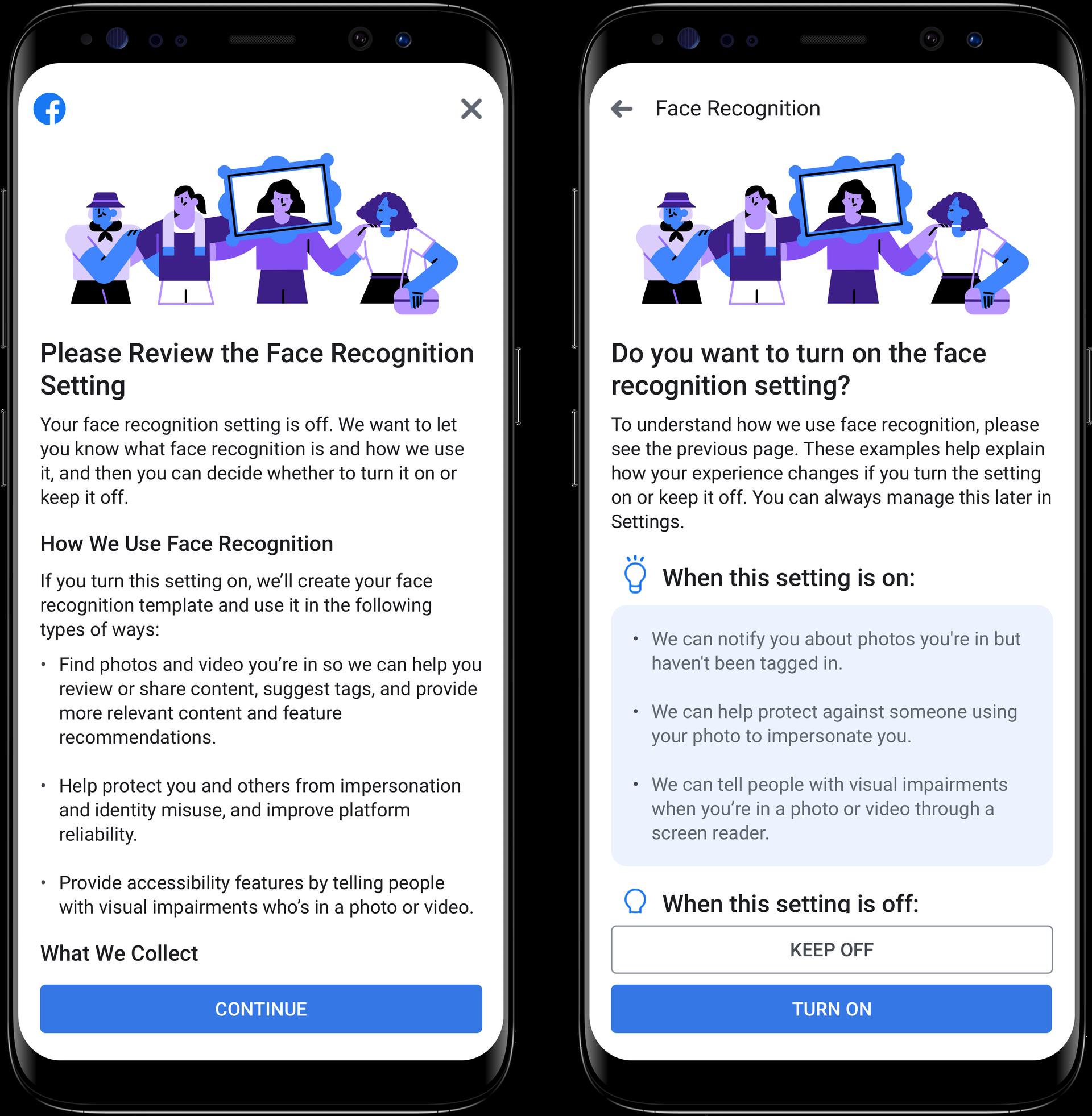 被罚款50亿美元后,FB整改:不再默认开启人脸识别功能