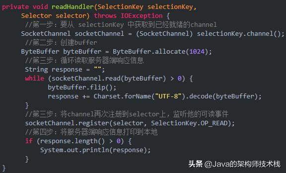 这篇java的NIO编程,保证你能看懂