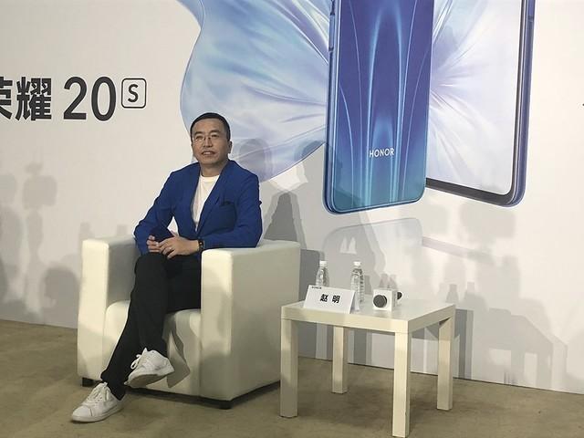 唯技术不可辜负 赵明称荣耀将继续打造行业标杆