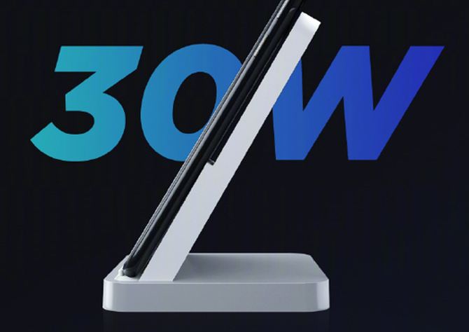 来了!小米首发30W无线闪充 第二款5G手机率先搭载