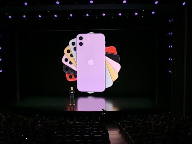 苹果正式发布iPhone 11 售价699美元起