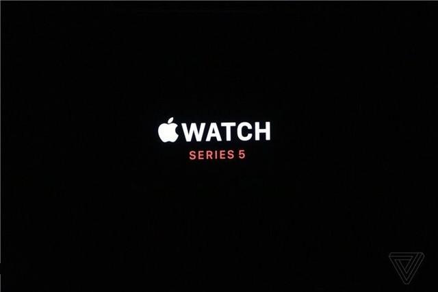 苹果正式发布Apple Watch5