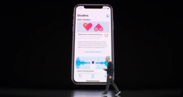 苹果推出健康研究应用 重点关注心脏与女性健康