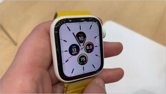 18小时长续航:3199元APPle Watch 5惊喜发布