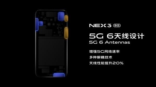 vivo NEX 3 5G发布 搭载骁龙855Plus 售