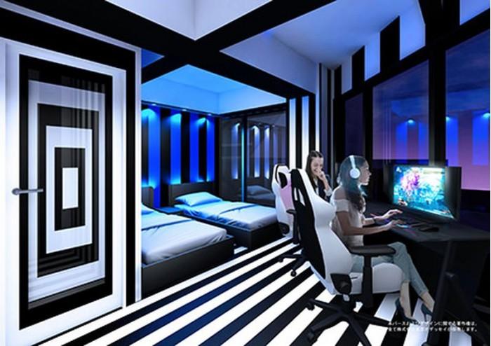 日本首家电竞主题酒店明年4月开业