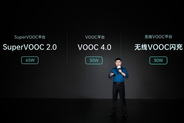 OPPO 65W SuperVOOC发布 30W无线VOOC闪充首亮相