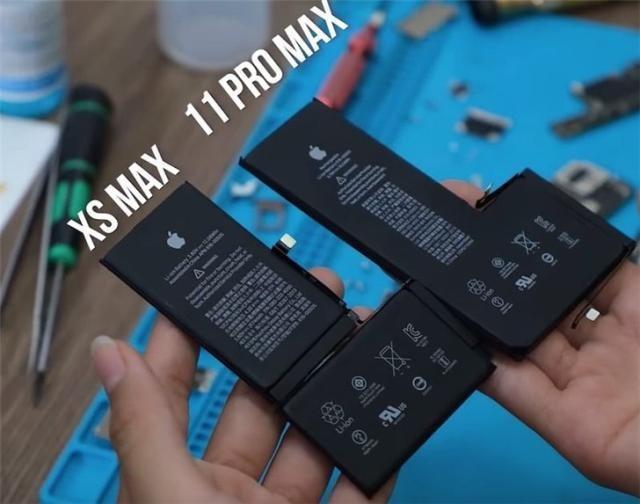 iPhone 11 Pro Max全球首拆:电池厚度增加明显