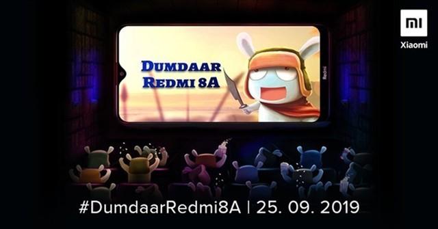 Redmi 8A宣布:5000mAh加持 9月25日印度亮相