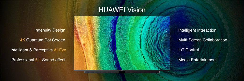 华为发布首款智慧屏 可升降AI摄像头9月20日预售